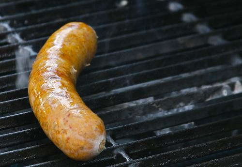 Housemade Basque Sausage at Cissi's