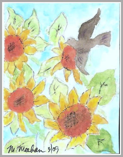 Sunflower ATC