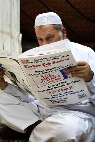 Shhh, He's Reading