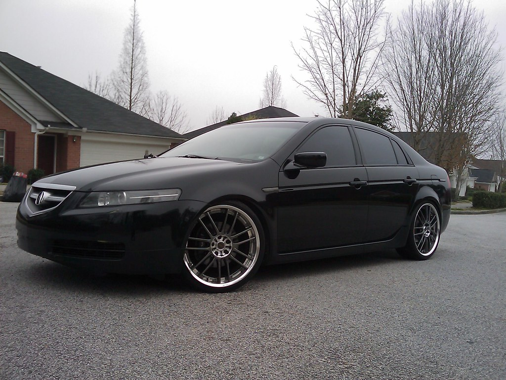 Inch Rims On TL AcuraZine Acura Enthusiast Community - Acura tl tires