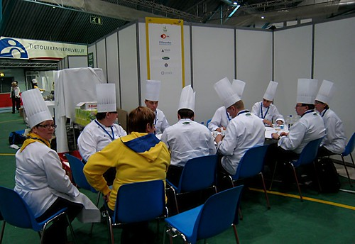 A chef-meeting