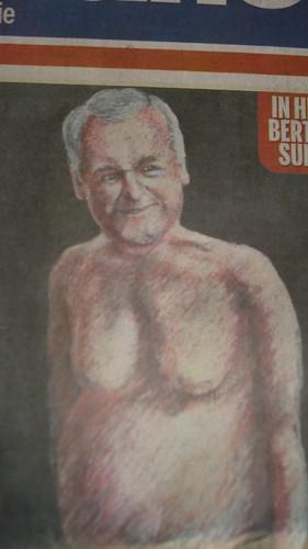 Nude Bertie Ahern