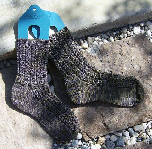 Somewhere Else socks