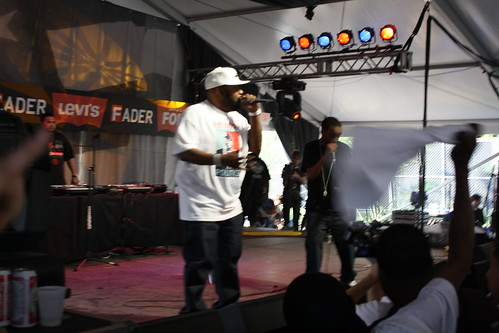 Bun B at the Levis/Fader Fort