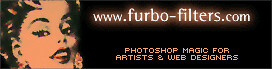 Web banner for Furbo Filters, my first web product (with Craig Hockenberry), 1996?