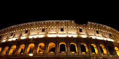 Colosseum Rim (Sean Molin Photography) Tags: city longexposure rome roma heritage scale beautiful soldier fight lowlight european roman circus landmark colosseum arena huge coliseum epic colossal emperor gladiator colosseo wonderoftheworld colise colorsofthenight vacationeuropeitalyrome2009marchvacationitalli vacationeuropeitalyrome2009marchvacationitallian seanmolin wwwseanmolincom
