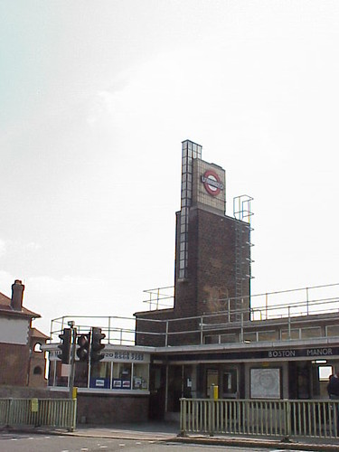 Boston Manor Tube Station, London Underground, Piccadilly Line