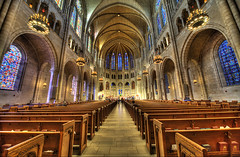 Church on the River Side (Tony Shi Photos) Tags: nyc newyorkcity church interiors gothic grand riversidechurch hdr  sigma1224 churchinterior   nikond700    thnhphnewyork  tonyshi