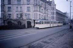 Rostock, Gotha Tram nr 708, Jan 1990