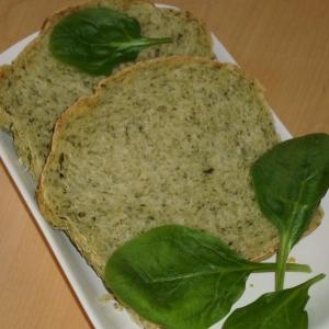 pain aux épinards