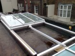 GRF15a: Fully retracting Sliding Roof Light