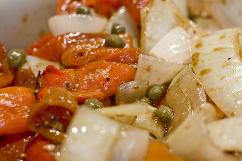 Roaste Red Pepper and Onion Salad 3