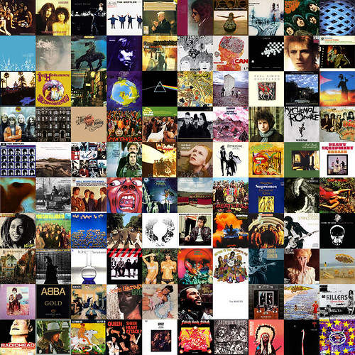 100 albums - the soundtrack of my life
