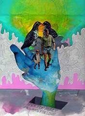 Never For Money Always For Love (Willbryantplz) Tags: sanfrancisco love collage watercolor exhibition talkingheads needlespens myloveforyou lightinyoureyes neverformoney