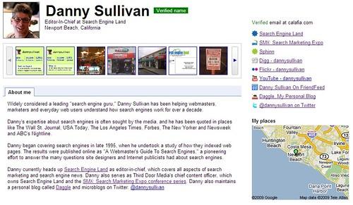 Danny Sullivan's Profile