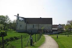 Waterburcht, Millen (Erf-goed.be) Tags: geotagged limburg millen riemst burcht donjon waterburcht archeonet geo:lon=55578 geo:lat=507855