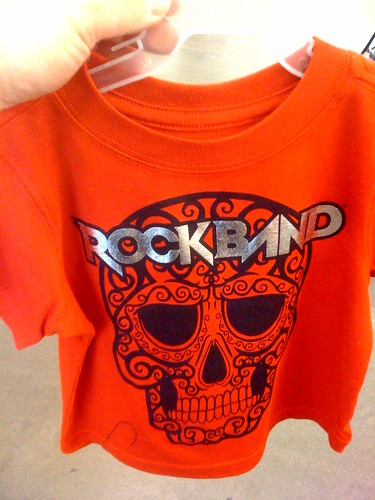 Rock band tee for the baby!