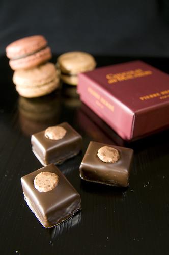 Chocolat au Macarons, Pierre Hermé, Salond du Chcolat 2009 Tokyo, Shinjuku Isetan