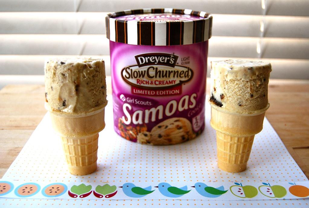 samoas ice cream