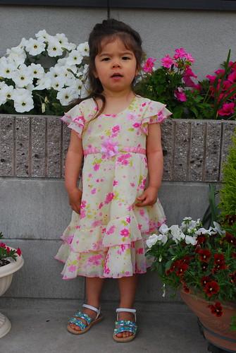 sasha's floaty dress