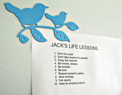 jack's life lessons