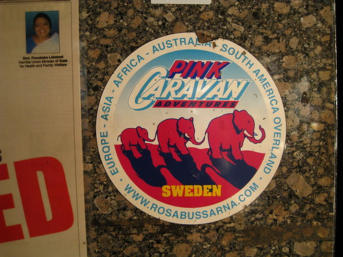 pink caravan sweden - lol