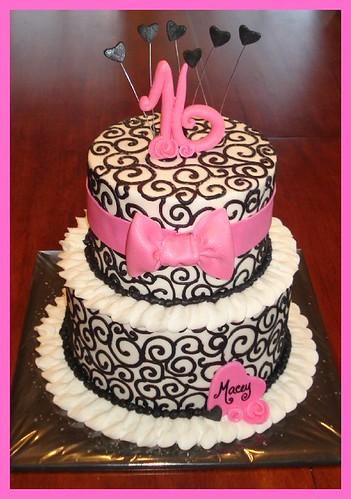 16th birthday boy cake ideas