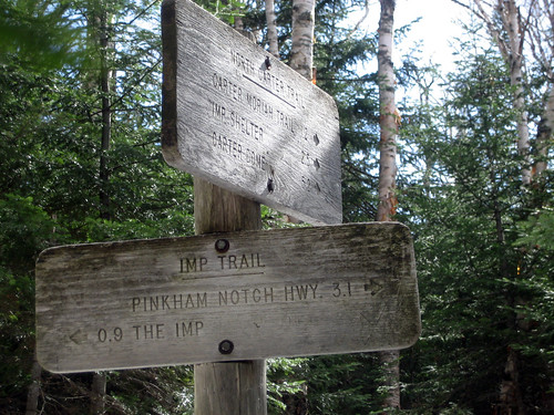 trail signpost