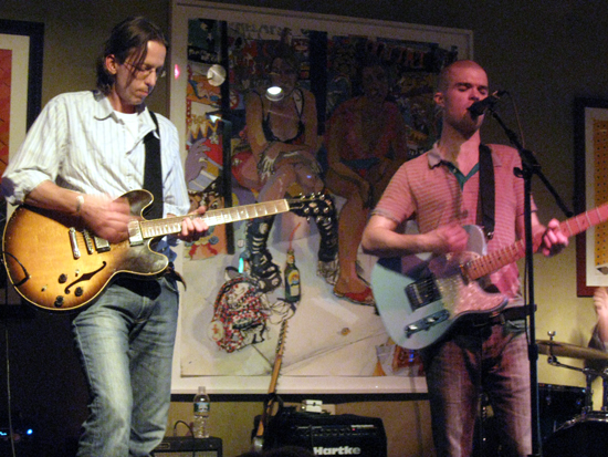The Bill O'Meara Band at Milkboy Coffee (Click to enlarge)