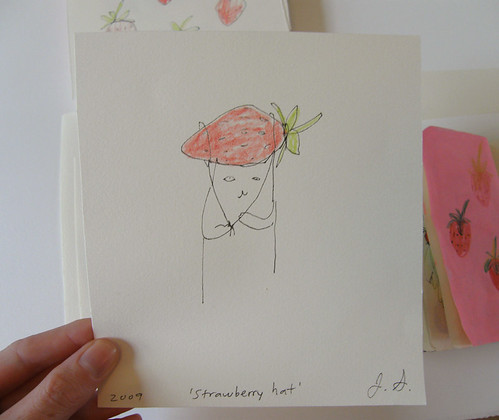strawberry hat by you.