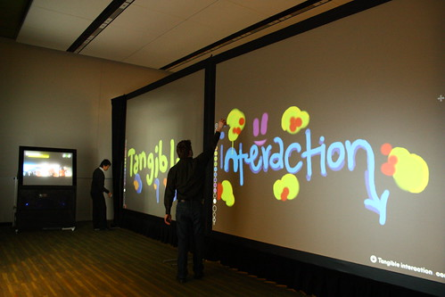 Graffiti Digital - tecnologia interactiva nos Jogos Olimpicos de Inverno, Vancover 2010