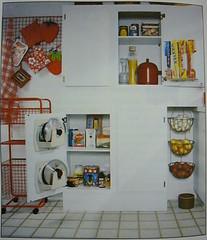 80's Kitchen (Heath & the B.L.T. boys) Tags: white strawberry retro apron decorate organize