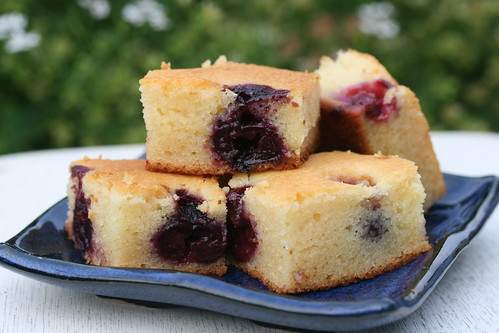 Food Librarian - Cherry Mochi Cake