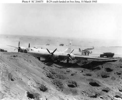 Plane crash, crash video plane, airplane crash, aircraft crashes - B-29 accident in Iwo Jima