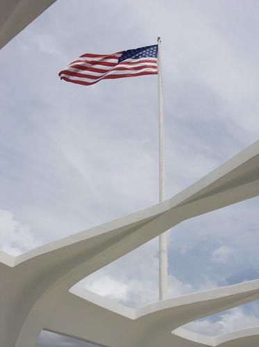 At Pearl Harbor Memorial