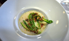 2nd Course: Asparagus in Bonito Butter