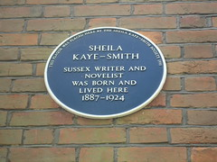 Photo of Sheila Kaye-Smith blue plaque