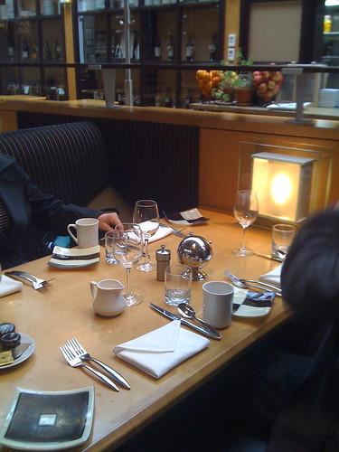 Breakfast at Hotel Monaco