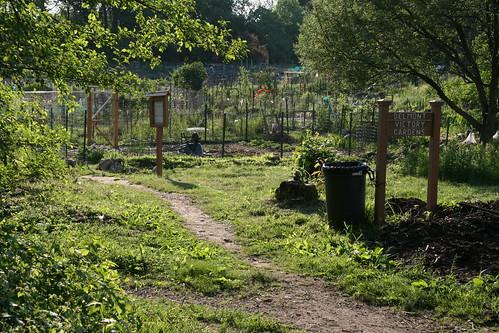 BVG garden entance