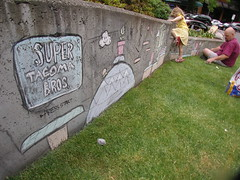 Stowe's Chalk Side Scroller Game