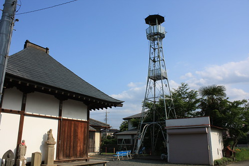 吹塚新田の火の見櫓