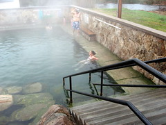 natural hot springs (misskatherinemiller) Tags: travel hot pool saratoga springs baths wyoming roadside hobo naturally occuring