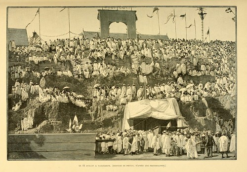 011-Fiesta en Tananarive-Madagascar finales siglo XIX