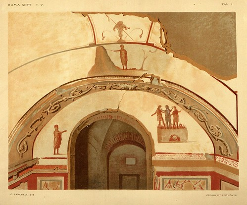 024- Catacumbas de Priscilia-Capilla Griega-La Roma sotterranea cristiana - © Universitätsbibliothek Heidelberg
