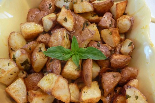 Smoky Herb Roasted Potatoes