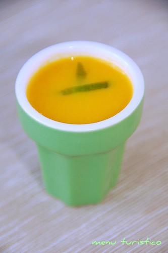zuppa carota agrumi