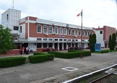 Rail Station Stamora Moravita (perspective-OL) Tags: station june europe close border railway romania 2009 serbian moravita stamora