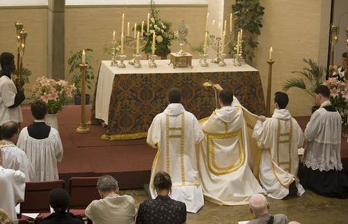 The Blessed Sacrament in the Chaplaincy