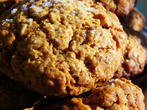 Maldon Salt Oatmeal Cookies