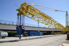 PICT0011 (NikooliX / A I Nikolis) Tags: ltm bridge mobile göteborg lift sweden crane gothenburg replacement cranes tc sverige tandem 500 ac 1500 81 liebherr spmt 2800 terex demag ac500 kranar mobilkran havator allyft